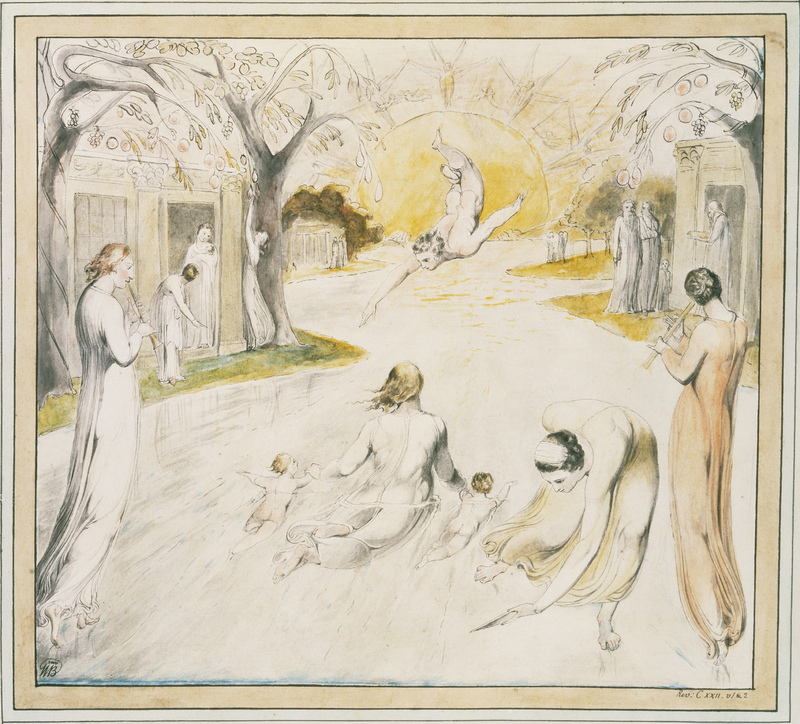 William Blake's 'The River of Life'