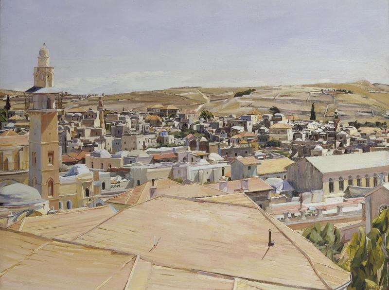 David Bomberg's 'Jerusalem, Looking to Mount Scopus'