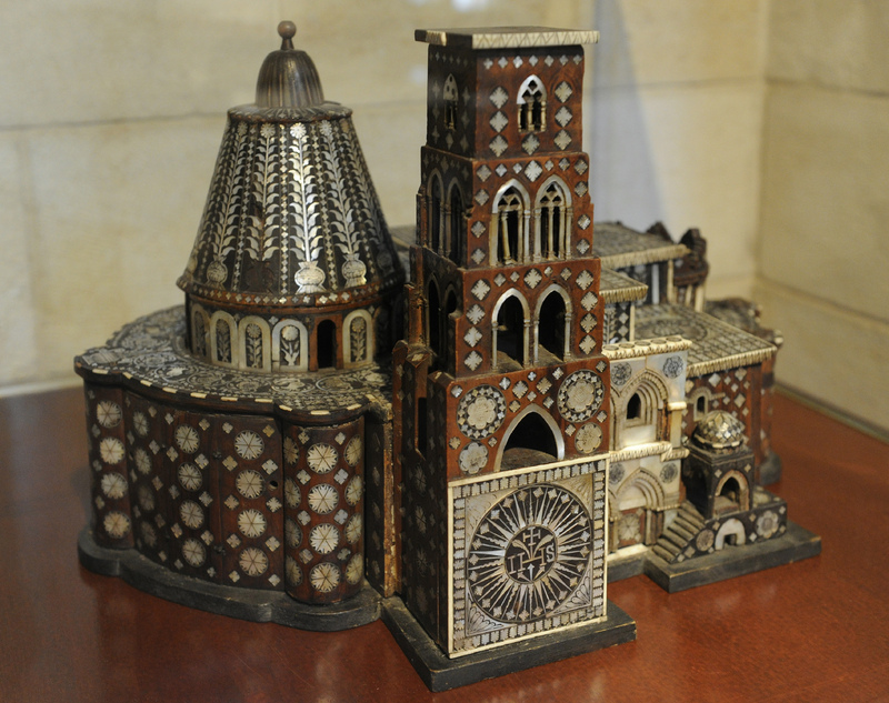 Model of the Church of the Holy Sepulchre
