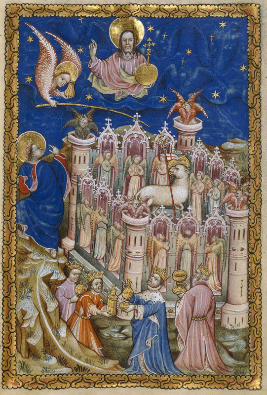'The New Jerusalem' from The Flemish Apocalypse