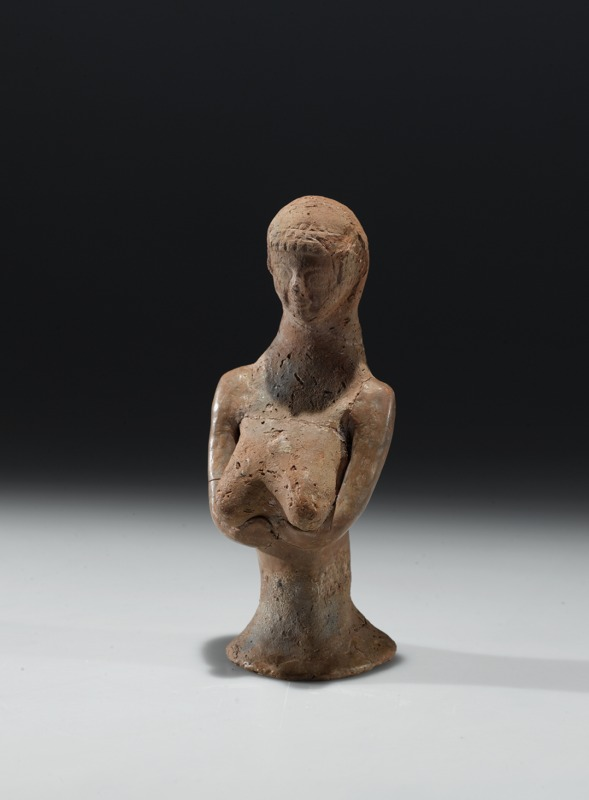 Female figurines from Jerusalem and Bethlehem and figurine and fragments from Lachish