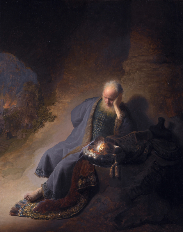 Rembrandt's 'Jeremiah Lamenting the Destruction of Jerusalem'