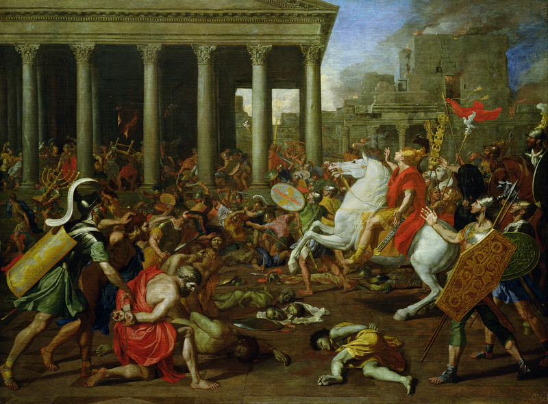 Nicholas Poussin's 'The Destruction of the Temples in Jerusalem by Titus'