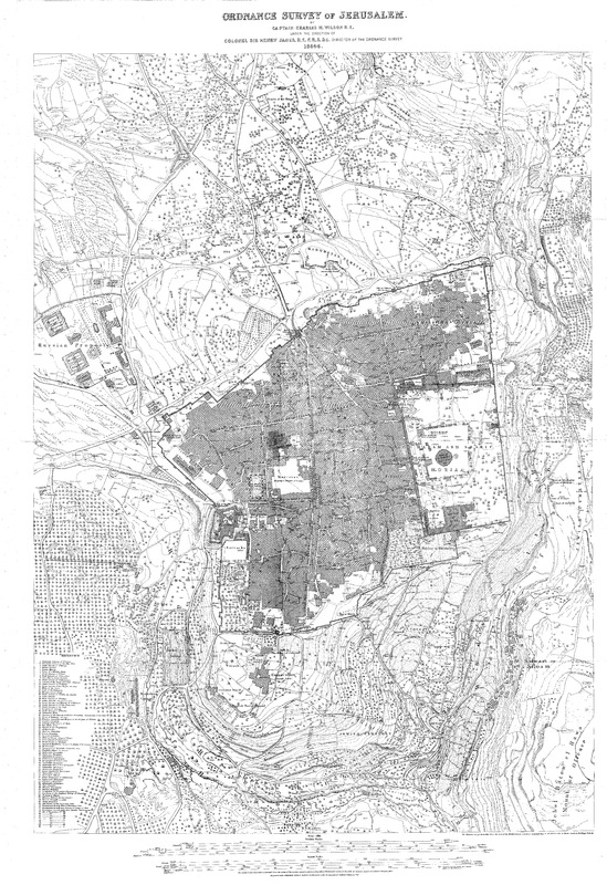 The 'Ordnance Survey of Jerusalem'