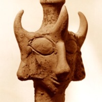Head of a Goddess from Horvat Qiṭmit