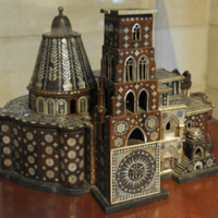 17th 18th Century model of Church of Holy S.jpg