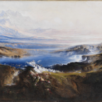 John Martin's 'The Plains of Heaven'