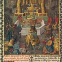 Jean Fouquet's 'Capture of Jerusalem by Herod in 36 BC', from 'Antiquites Judaiques'