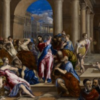 El Greco's 'Christ Driving the Money Changers from the Temple'