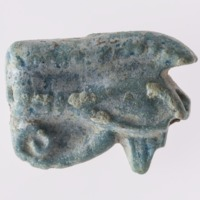 Eye of Horus Amulet from Megiddo