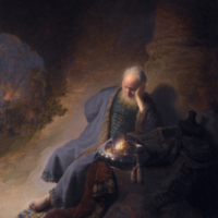 Rembrandt - Jeremiah Lamenting the Destruction of Jerusalem.jpg