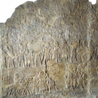 Sennacherib's South West Palace at Nineveh, portraying the siege of Lachish