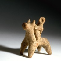 90.87.429~Horse and rider, Israelite period, 7th-6th cent. BCE.tif