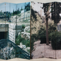 Mark Wallinger's 'Painting the Divide (Jerusalem)'