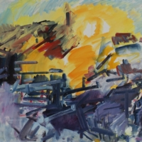 Dennis Creffield's 'Jerusalem Sunrise'