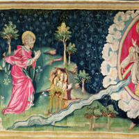 'The River of Paradise' from The Angers Apocalypse Tapestry